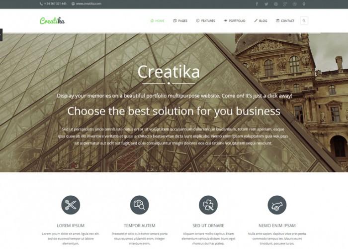 Creatika – Premium Responsive Business HTML5 Template