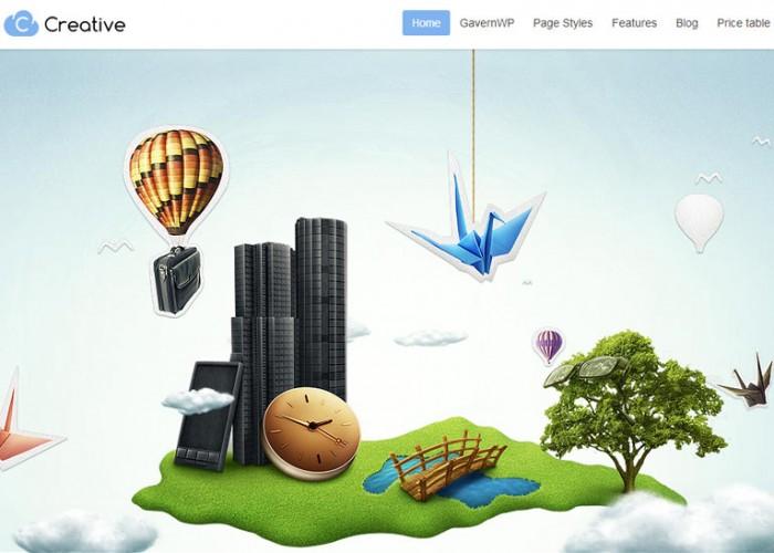 Creative – Premium Responsive Parallax Business WordPress Theme