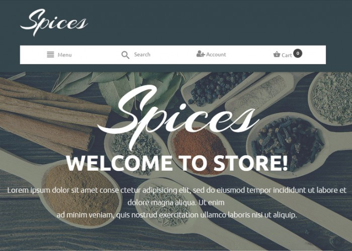 Culinary Spices – Premium Responsive Magento Theme