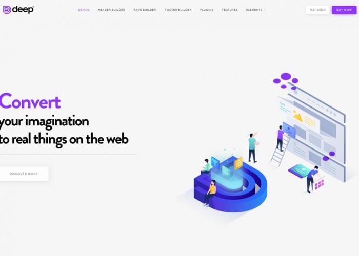 Deep – Premium Responsive Creative MultiPurpose WordPress Theme