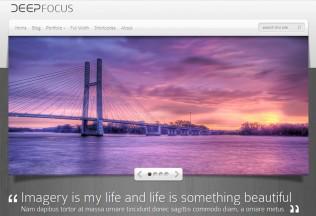 DeepFocus – WordPress Premium Responsive Photography Theme