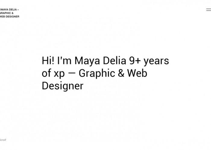 Delia – Premium Responsive Freelancer HTML5 Template