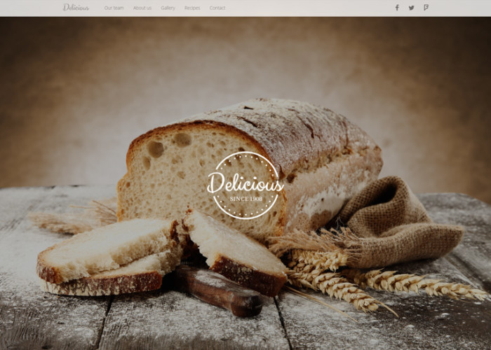 DELICIOUS – Premium Responsive Food & Drink Company HTML5 Template