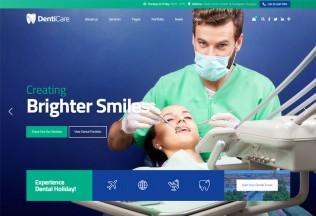DentiCare – Premium Responsive Dental Clinic WordPress Theme