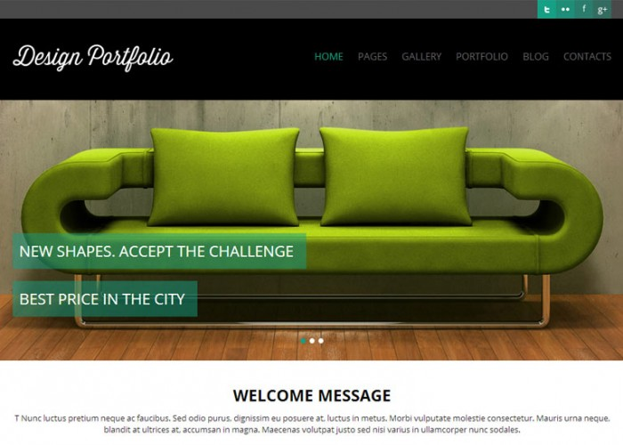 Design Portfolio – Premium Responsive Photography WordPress Theme