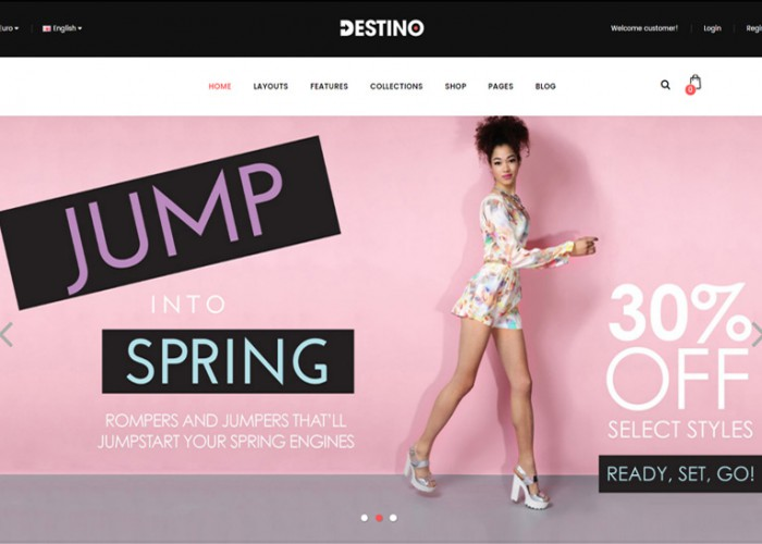 Destino – Premium Responsive Advanced & High Customizable eCommerce OpenCart Theme