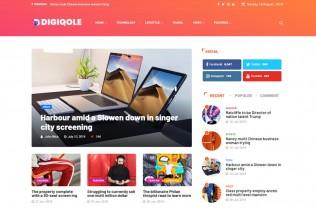 Digiqole – Premium Responsive News Magazine WordPress Theme