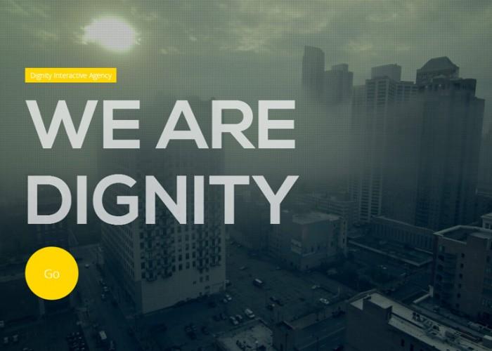 Dignity – Premium Responsive Portfolio HTML5 Template