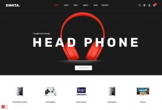 Dimita – Premium Responsive Electronics Ecommerce Prestashop Theme
