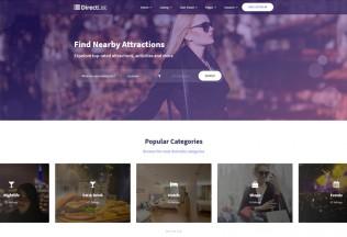 DirectList – Premium Responsive Directory Angular 7 HTML5 Template