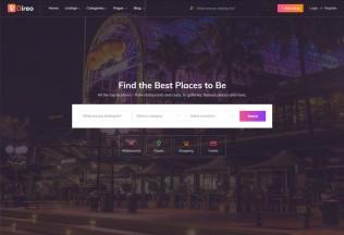 Direo – Premium Responsive Directory & Listing HTML5 Template