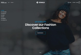 Donald – Premium Responsive Ultimate eCommerce HTML5 Template