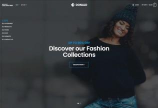 Donald – Premium Responsive Ultimate eCommerce HTML5 Template