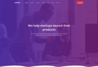 Dorsin – Premium Responsive React Landing Page HTML5 Template