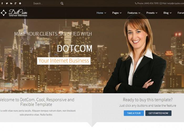 DotCom – Premium Responsive Corporate Joomla Template