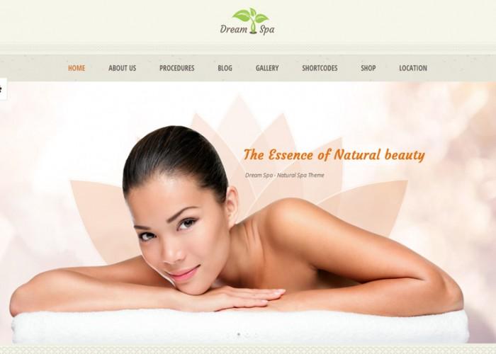 DreamSpa – Premium Responsive Beauty Salon WordPress Theme