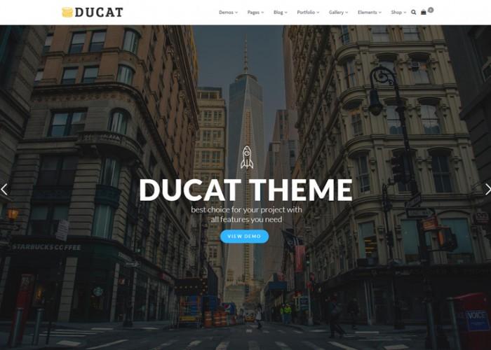 Ducat – Premium Responsive MultiPurpose WordPress Theme
