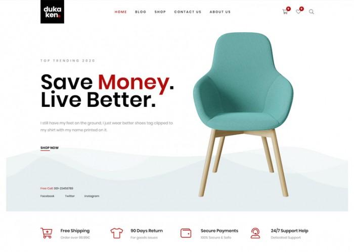 Dukaken – Premium Responsive WooCommerce WordPress Theme