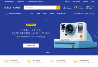 DukaMarket – Premium Responsive eCommerce WordPress Theme