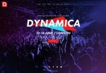 Dynamica – Premium Responsive Music Event / Festival / Party Muse Template