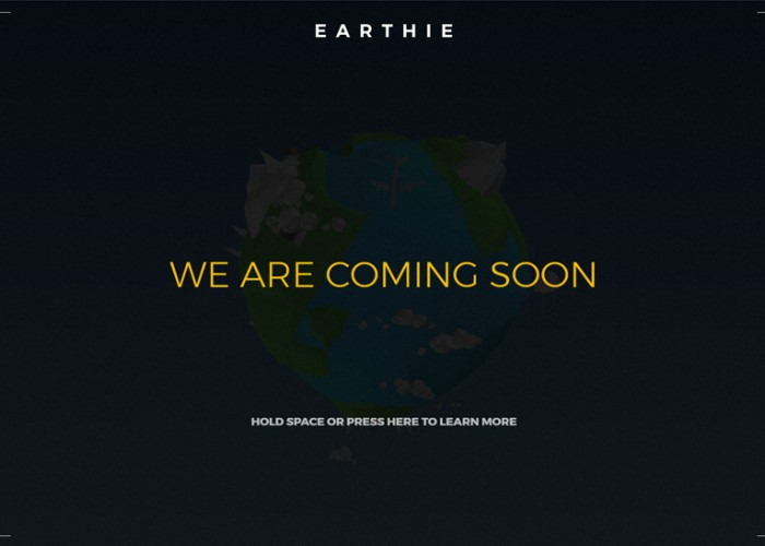 Earthie – Premium Responisve Creative 3D Coming Soon HTML5 Template