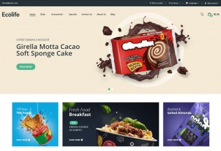 Ecolife – Premium Responsive Food & Cosmetic Opencart Theme