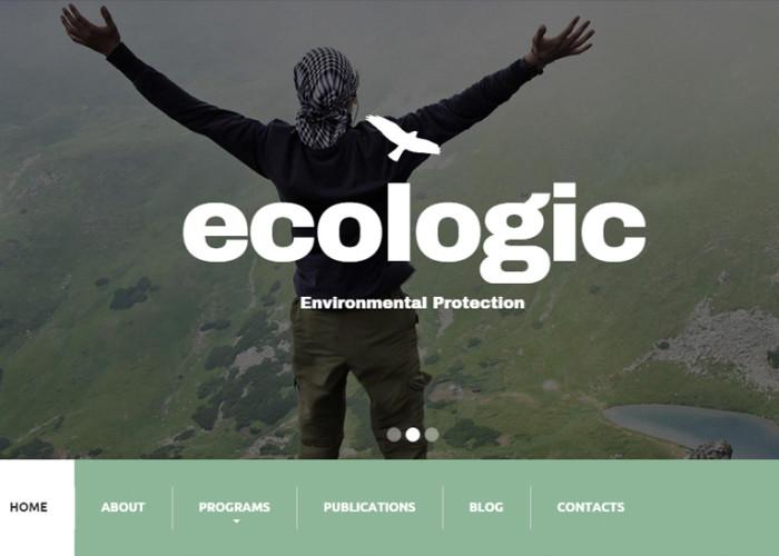Ecologic – Premium Responsive Environmental Drupal Theme