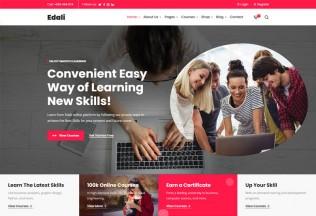 Edali – Premium Responsive Online Courses WordPress Theme