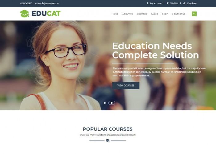 Educat – Premium Responsive Education WordPress Theme