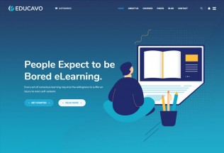 Educavo – Premium Responsive Education HTML5 Template