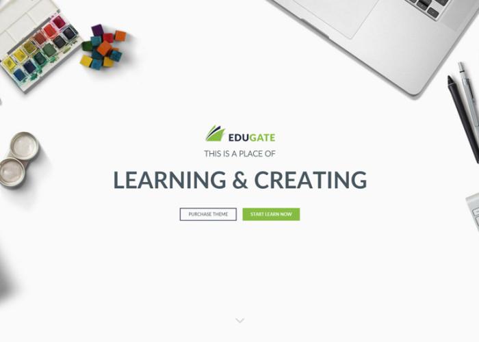 EduGate – Premium Responsive Education HTML5 Template