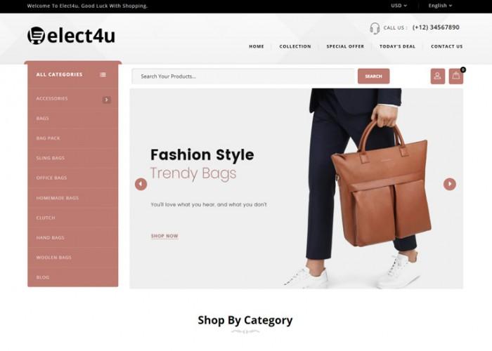 Elect4u – Premium Responsive Multipurpose Magento 2 Theme