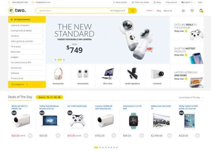 Electro 2 – Premium Responsive Multipurpose Magento 2 Theme