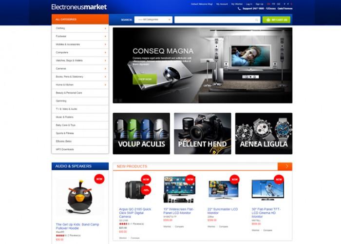 Electronues – Premium Responsive Electronics Store Magento Theme