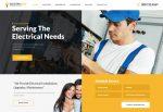 ElectroServ – Premium Responsive Electrical Repair Service WordPress Theme