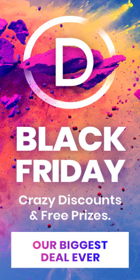 Elegant Themes Black Friday 2018