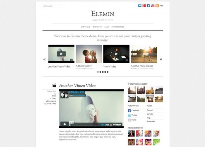 Elemin – Premium Responsive WordPress Theme
