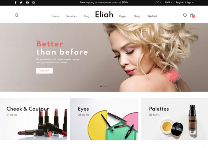 Eliah – Premium Responsive WooCommerce WordPress Theme