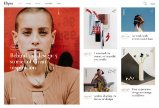 Elipsa – Premium Responsive Creative Magazine WordPress Theme