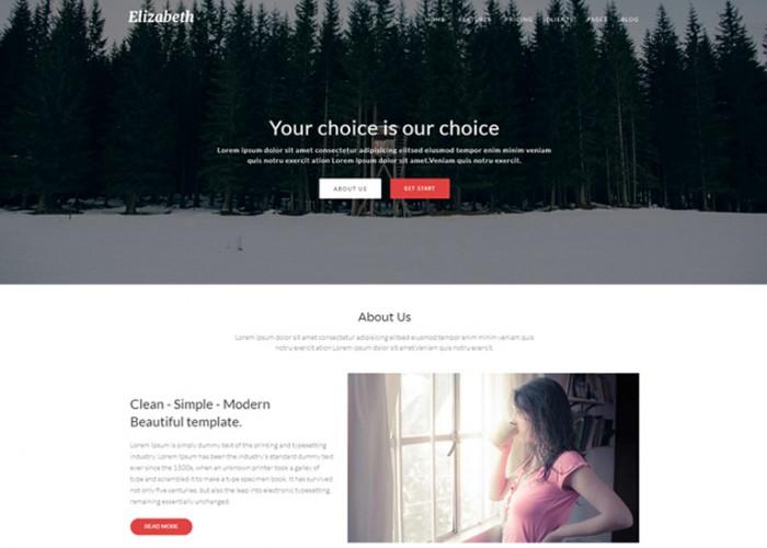 Elizabeth – Premium Responsive Corporate Joomla Theme With Page Builder