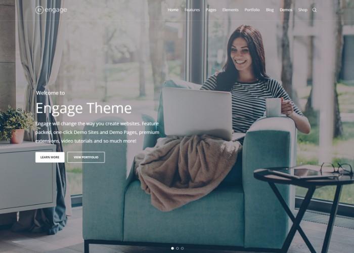 Engage – Premium Responsive Multipurpose WordPress Theme