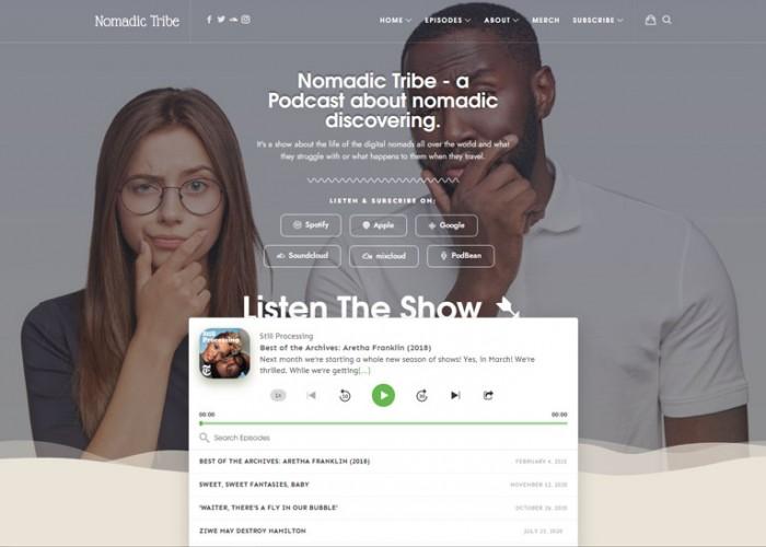 Episody – Premium Responsive Audio Podcast WordPress Theme