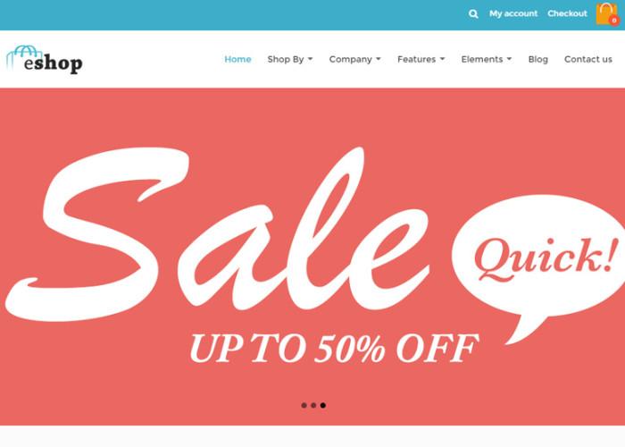 eshop – Premium Responsive Retina Drupal Commerce Theme