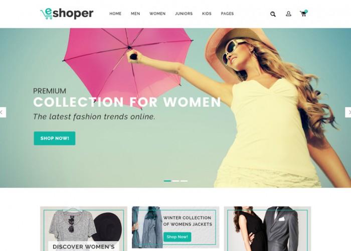 Eshoper – Premium Responsive Multipurpose Opencart 3 Theme