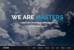 Ether – Premium One Page Multipurpose Muse Template