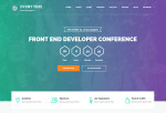 Event Time – Premium Responsive Conference & Event HTML5 Template