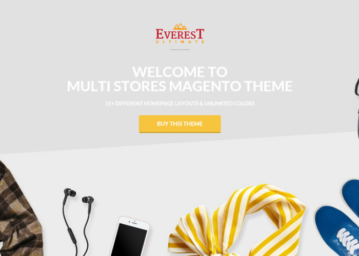 Everest – Premium Responsive Multipurpose SuperMarket Magento Theme