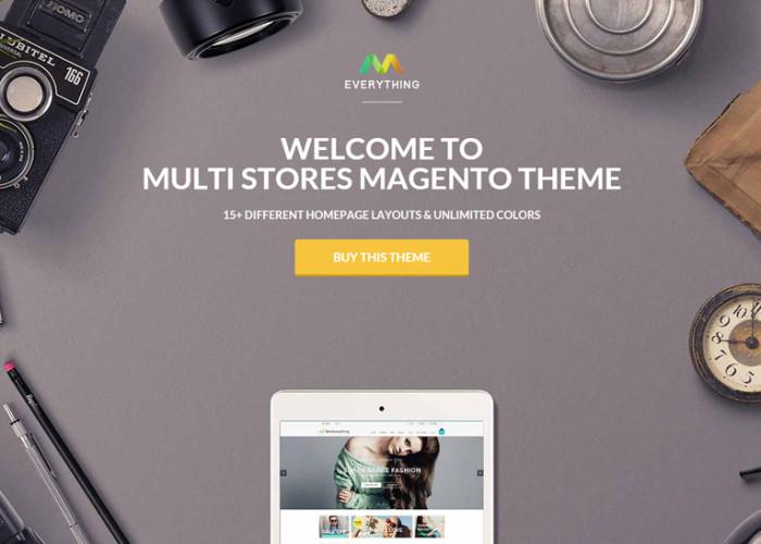 Everything Store – Premium Responsive Multipurpose Magento Theme