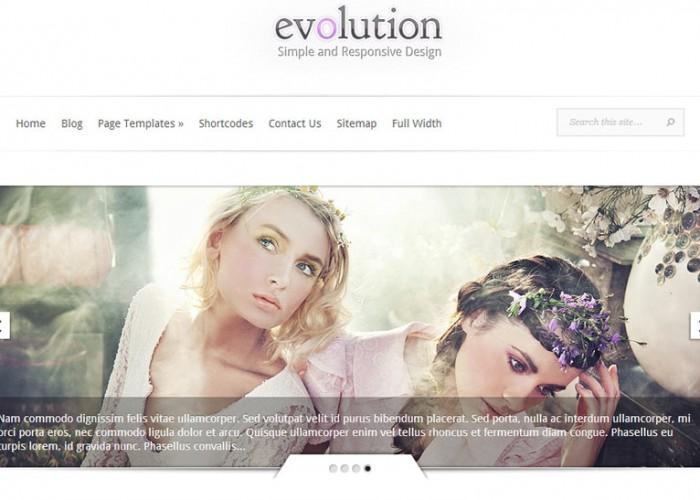 Evolution –  WordPress Premium Responsive Theme
