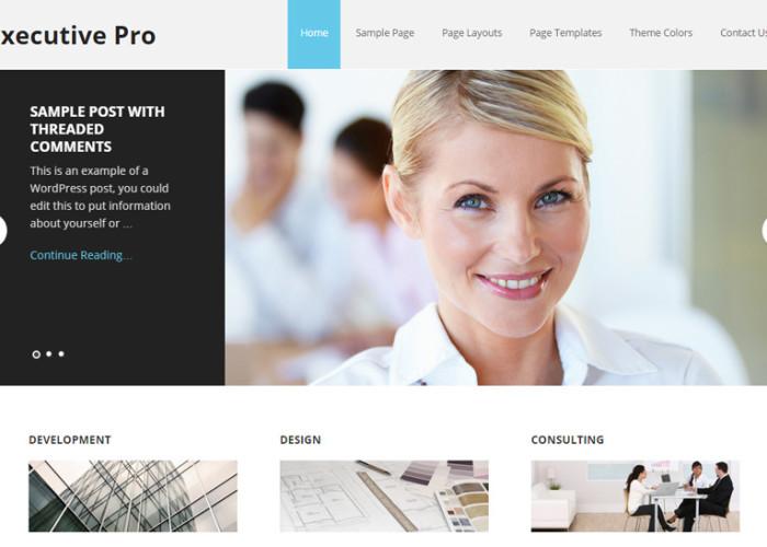 Executive Pro – Premium Responsive WordPress Business Theme